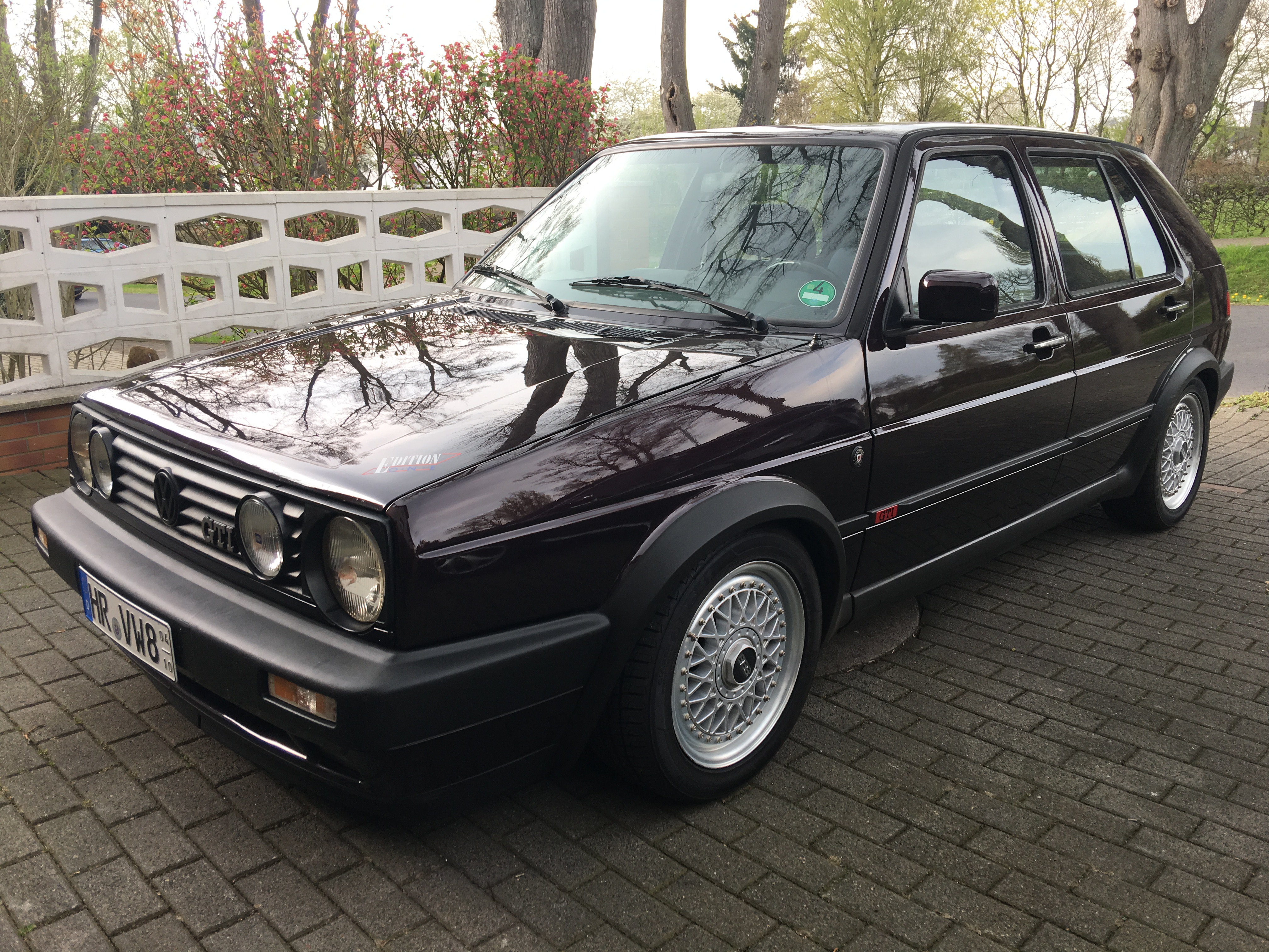 Quicklink: Golf II GTI Editione One